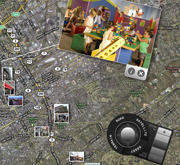 MT-50 Multitouch Table Bundled with New Mapping Mashup Software